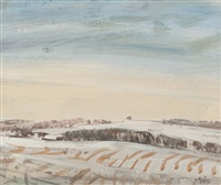 early snow netherley by gordon bryce