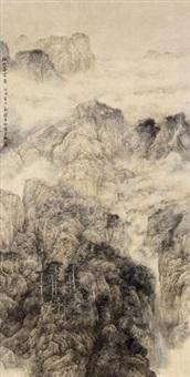松山暮云 by liu xun