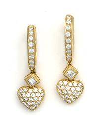paire de pendants d'oreilles by adler
