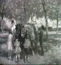 in the orchard, attenborough by harry freckleton