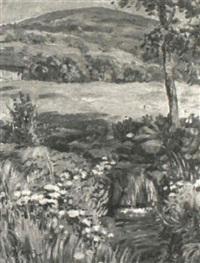 bachlandschaft am schwarzwaldrand by conrad kayser