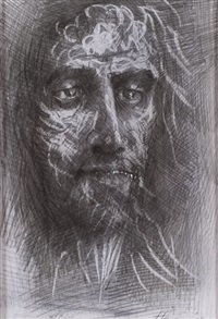 christ by peter howson