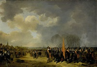 the departure in 1643 from scheveningen by the english queen henrietta maria by paulus lesire
