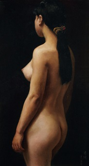 背影 (receding figure) by xu yanzhou