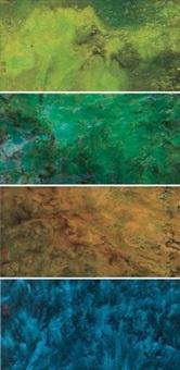 春夏秋冬系列 (the four seasons series) (4 works) by liu kuo sung