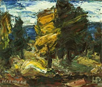 landscape by holmead (clifford holmead phillips)