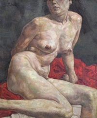 女人体 (the nude) by ma baozhong