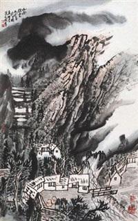 山雨欲来 by zeng xianguo