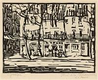 place de la gendamerie, le havre by holmead (clifford holmead phillips)