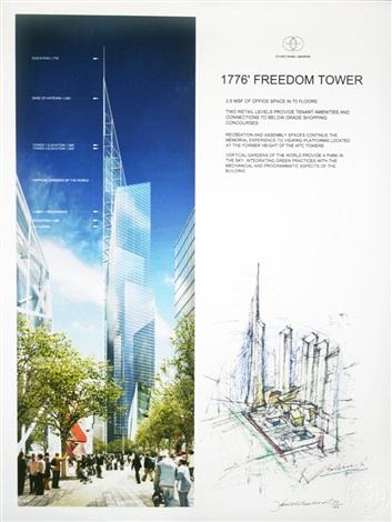 freedom tower by daniel libeskind