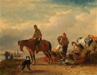 rijke vangst by joseph jodocus moerenhout