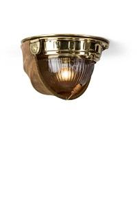 seltene jugendstil-plafondlampe by otto wagner
