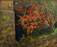 vue du jardin by maurice retif