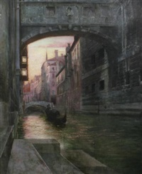 the bridge of sighs, venice by isaac snowman