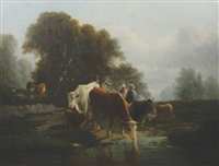 cattle watering by constant troyon