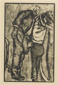 le repos des faucheurs by edouard (eugène françois) vallet