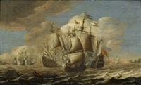 sjöslaget i öresund by pieter coopse