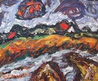 landscape by milan konjovic