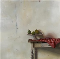 still life with pears by pol verswijver