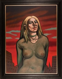 madonna by peter howson