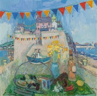 harbour festival, spring by donald manson