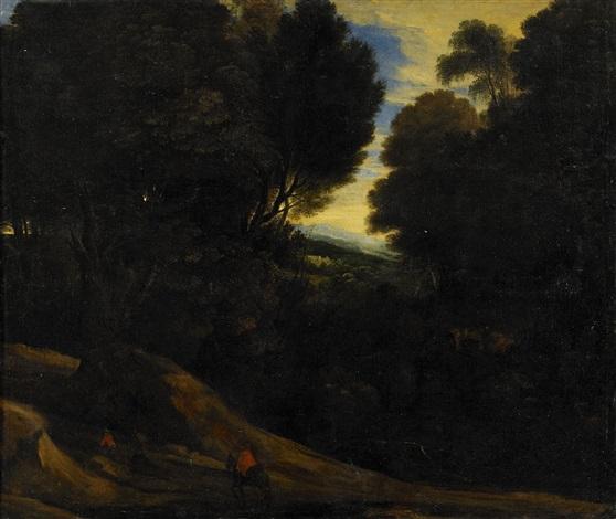 landskap med figurstaffage by jacques d arthois