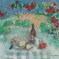 stilton cheese and somerset cider by donald manson