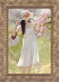 by the lilac tree by maria boohtiyarova