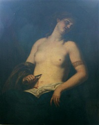suicide of lucretia by giovanni bilivert