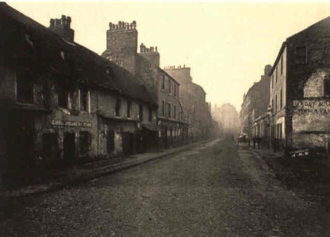 main street gorbals looking south by thomas annan