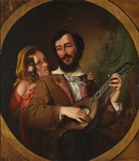 der troubadour by mikhail ivanovich scotti