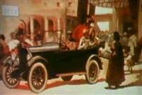 abroad in the chalmer car by walter dean goldbeck