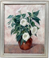 floral arrangement by howard logan hildebrandt