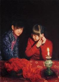 sisters by junming ren