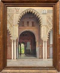 sevilla (seville archway) by f. liger hidalgo