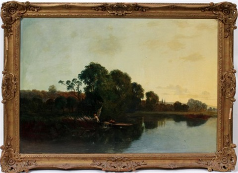 summer landscape by edwin henry boddington