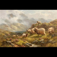 near loch tay, perthshire, n.b by sydney watson arthur