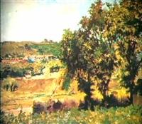 paysage d'ete by alexander alkhovsky