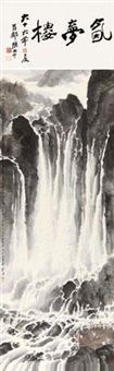 熊猫海瀑布 by liu yong