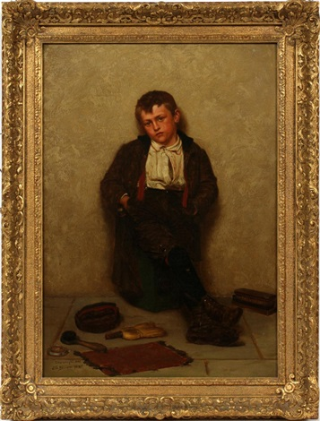 shoeshine bow by john george brown