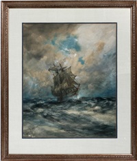 sailing ship by robert hopkin