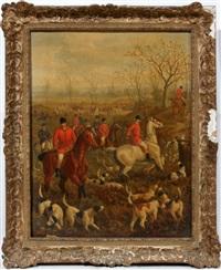 hunt scene by edward benjamin herberte