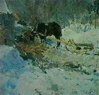 en hiver by nikolai abramov