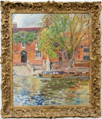 the ferry house-stratford on avon by e.m. aitken