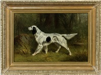 hunting dog by hermann gustave simon