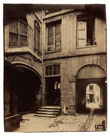 chateau rouge rue galande démoli by eugène atget