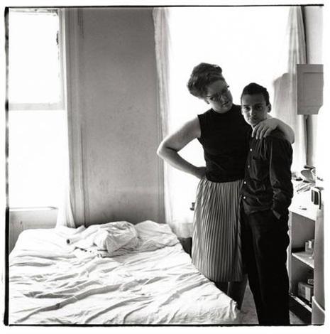 two friends at home, n.y.c. by diane arbus