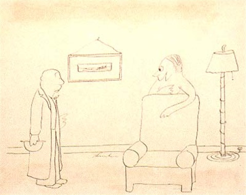 since i saw you last ive gone nudist do you mind by james thurber