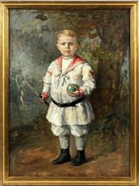 edward alger age four by gari melchers