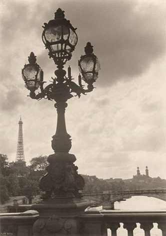 untitled paris view from pont alexandre iii by ilse bing